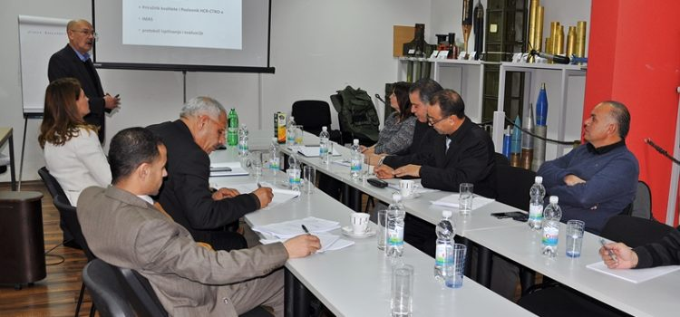 Libyan Delegation visited HCR-CTRO
