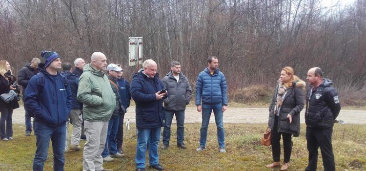 Posjet ukrajinske delegacije poligonu Cerovac