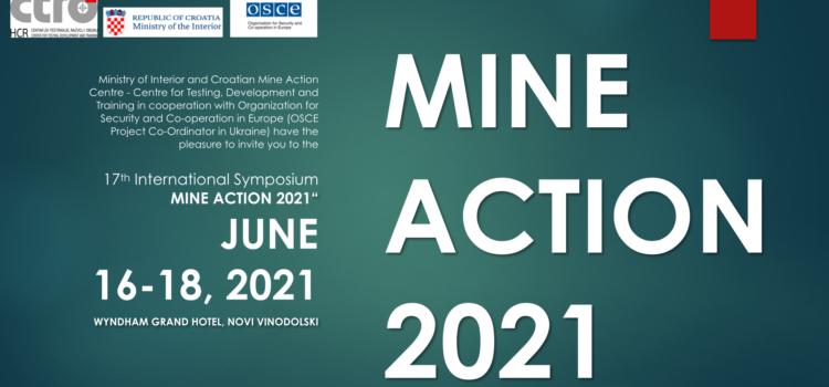 17th International Symposium – Mine Action 2021